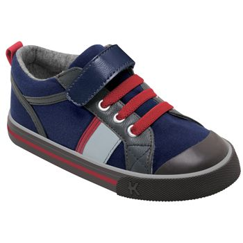 Kai by See Kai Run Noel Navy/Red - TinySoles