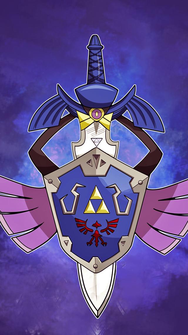 Master Sword Aegislash Iphone 5 Wallpaper Pokemon Ghost Pokemon Pokemon All Legendary Pokemon