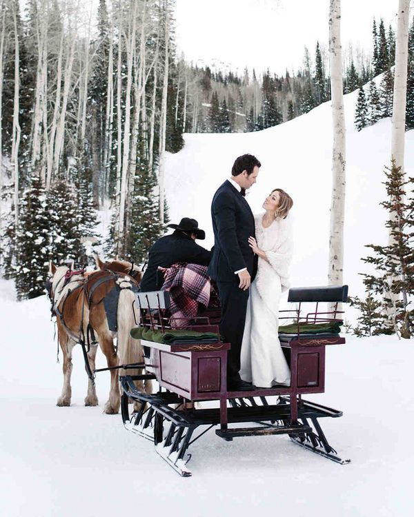 Snow Wedding Ideas: 10 Stunning Winter Wedding Ideas