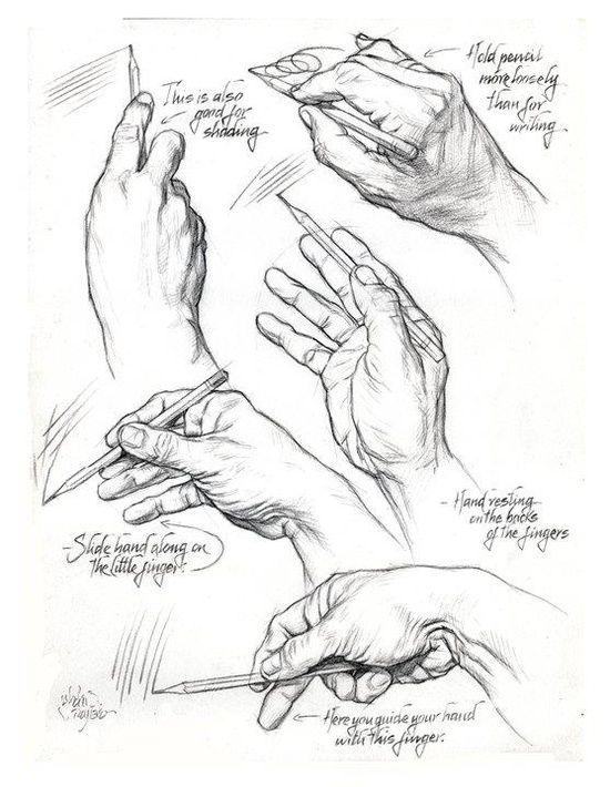 HOLDING THE PENCIL by AbdonJRomero on deviantART   Kresby ...