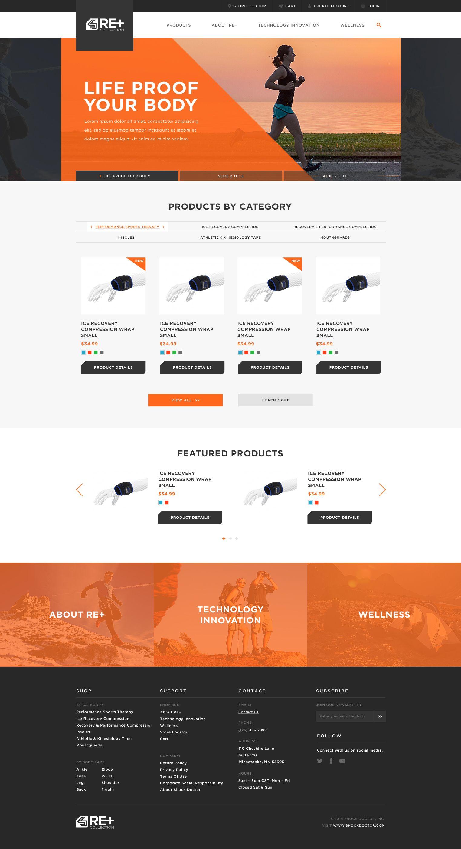 Re Large Jpg By Parker Peterson Footer Design Web Design Website Footer