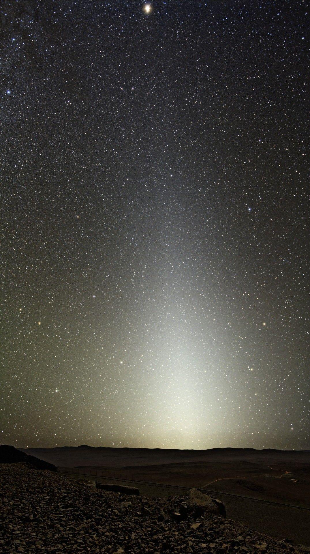 Zodiacal Light Seen fromParanal.