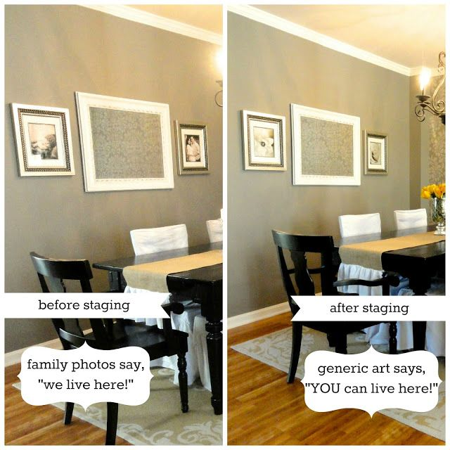 Some Staging Suggestions For How Depersonalize Your Home