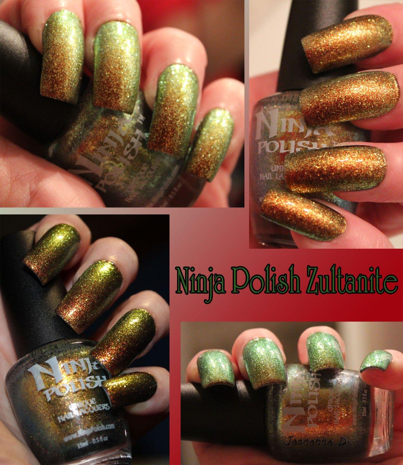 Ninja polish Zultanite. Ninja here I come | My Nail Color Style ...