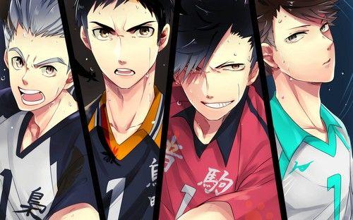 Haikyuu!!(High Kyuu!!) Fan Art: Haikyuu!! Captains