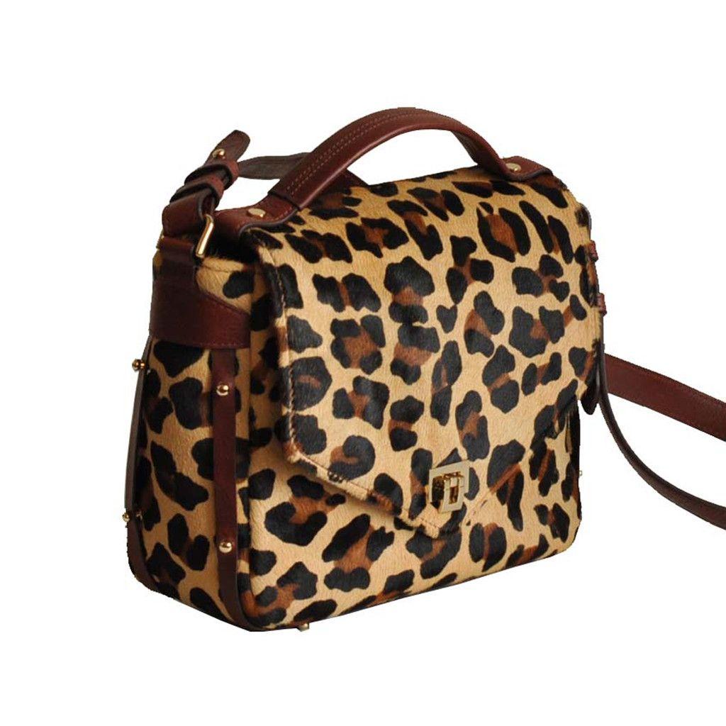 Jayel Crossbody Leopard by MARYLAI New York