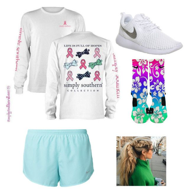 """""""Movie Outfit"""" by gracecantu13 ❤ liked on Polyvore featuring NIKE"""