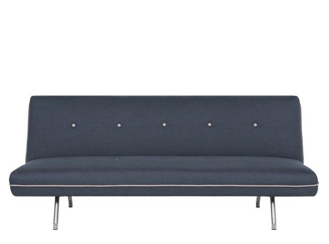 Miki Sofa Bed, Quartz Blue   SPARE ROOM   Sofa bed, Sofa, Bed
