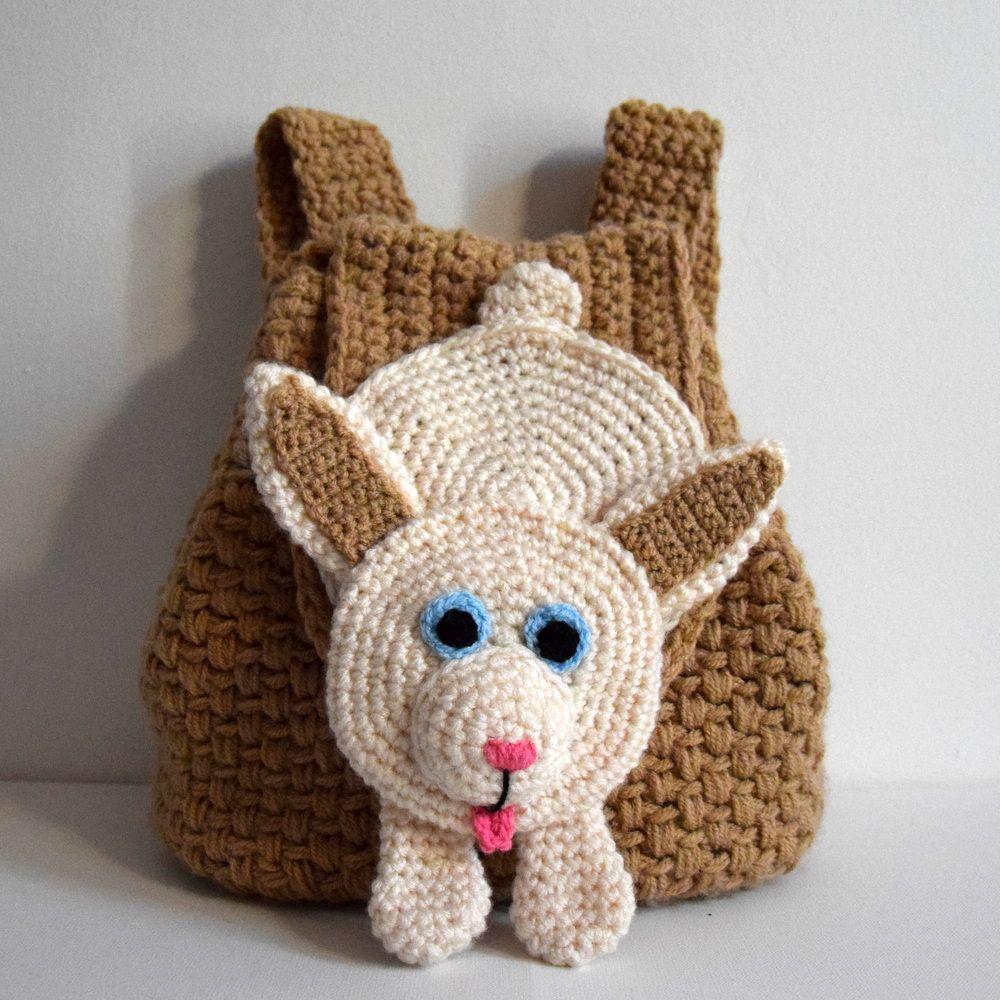 Tutoriel Sac à Dos Enfant Au Crochet Modèle Lapin Clothes