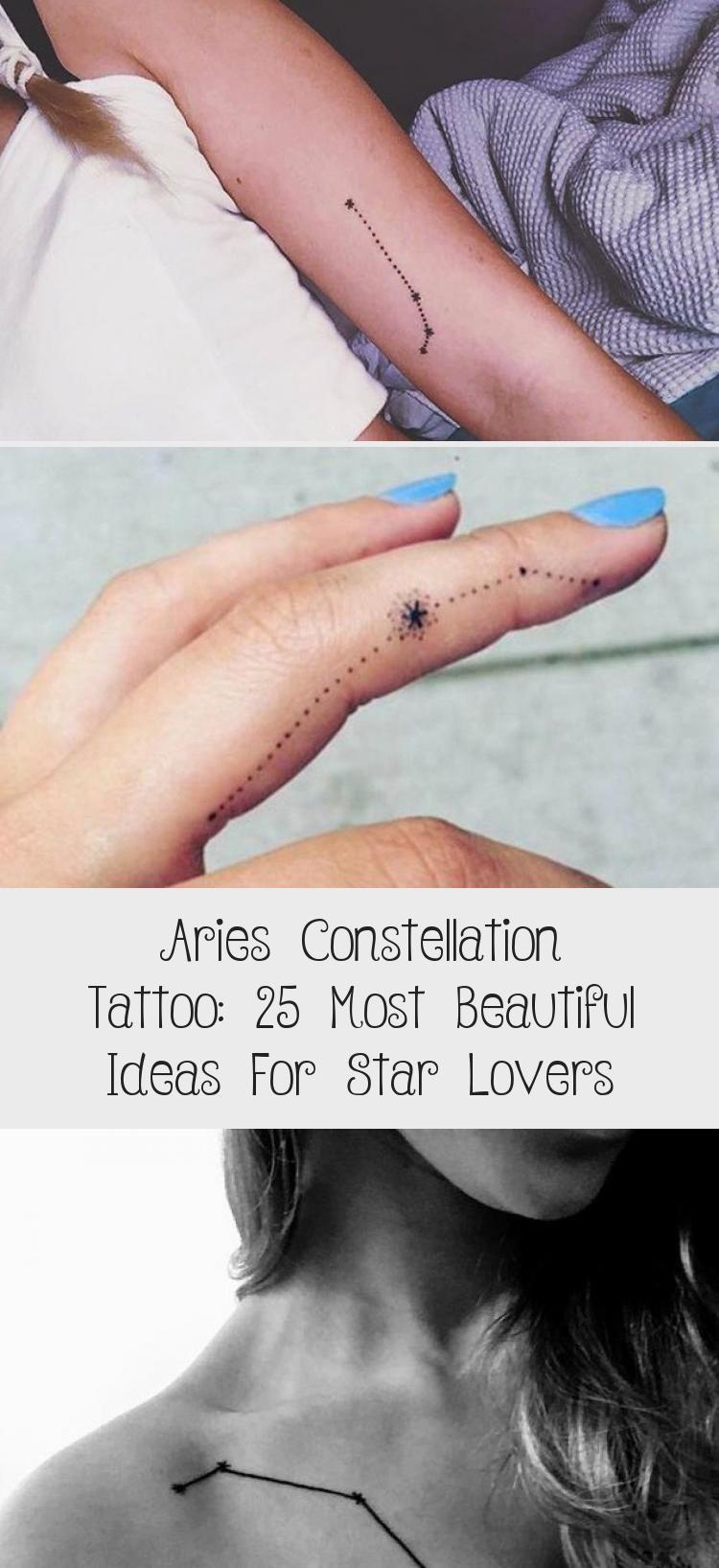 Photo of Widder Sternbild Tattoo: 25 schönsten Ideen für Star-Liebhaber, #Aries #ariesconstellat …