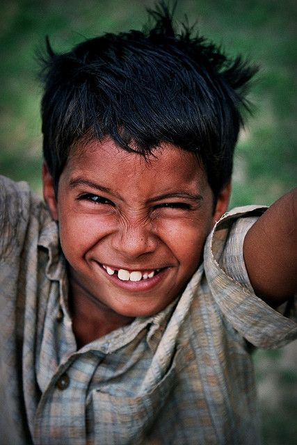 Happy boy. India by fredcan on Flickr.
