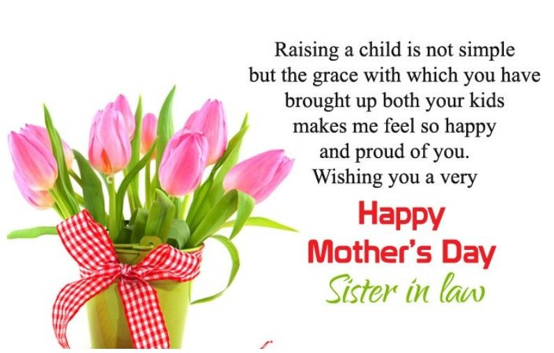 Best 50 Mother Day Quotes For Sister And Sister In Law Quotes Yard Mother Day Wishes Happy Mothers Day Sister Happy Mother Day Quotes