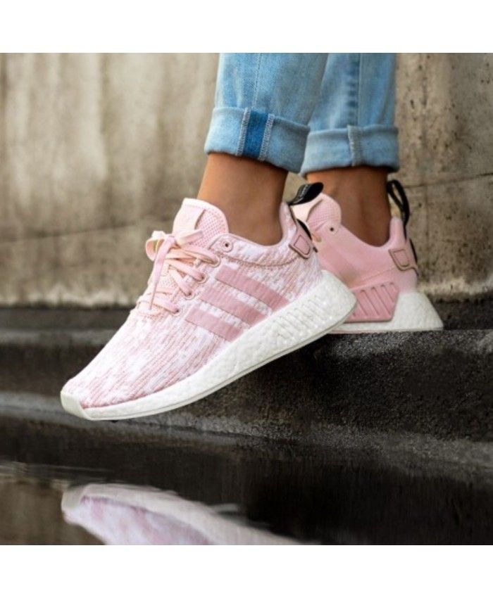casual shoes elegant shoes hot products Adidas Originals Nmd R2 Wonder Pink Trainers | my telor ...