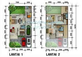 Desain Rumah Minimalis 2 Lantai Type 200 Contoh Rumah Minimalis 2