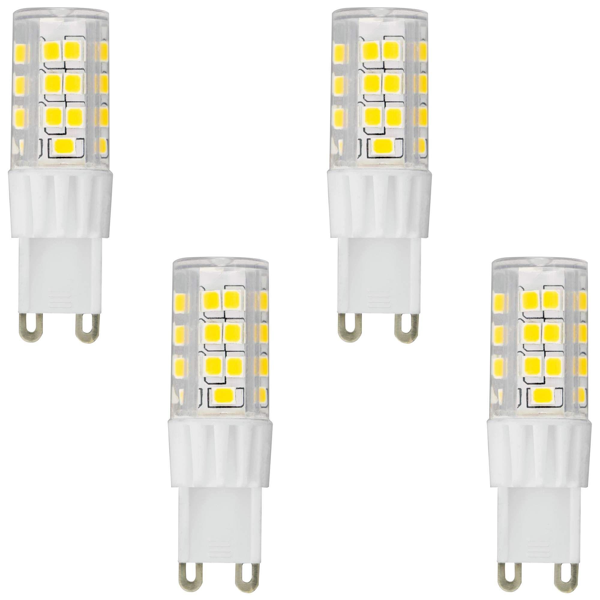 Light Bulbs 50w Equivalent Tesler 5w Led Dimmable G9 Base Bulb 4 Pack Energy Efficient Bulbs Bulb Led Light Bulb