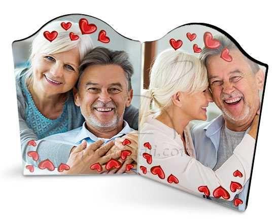Cornice Love Frame in love