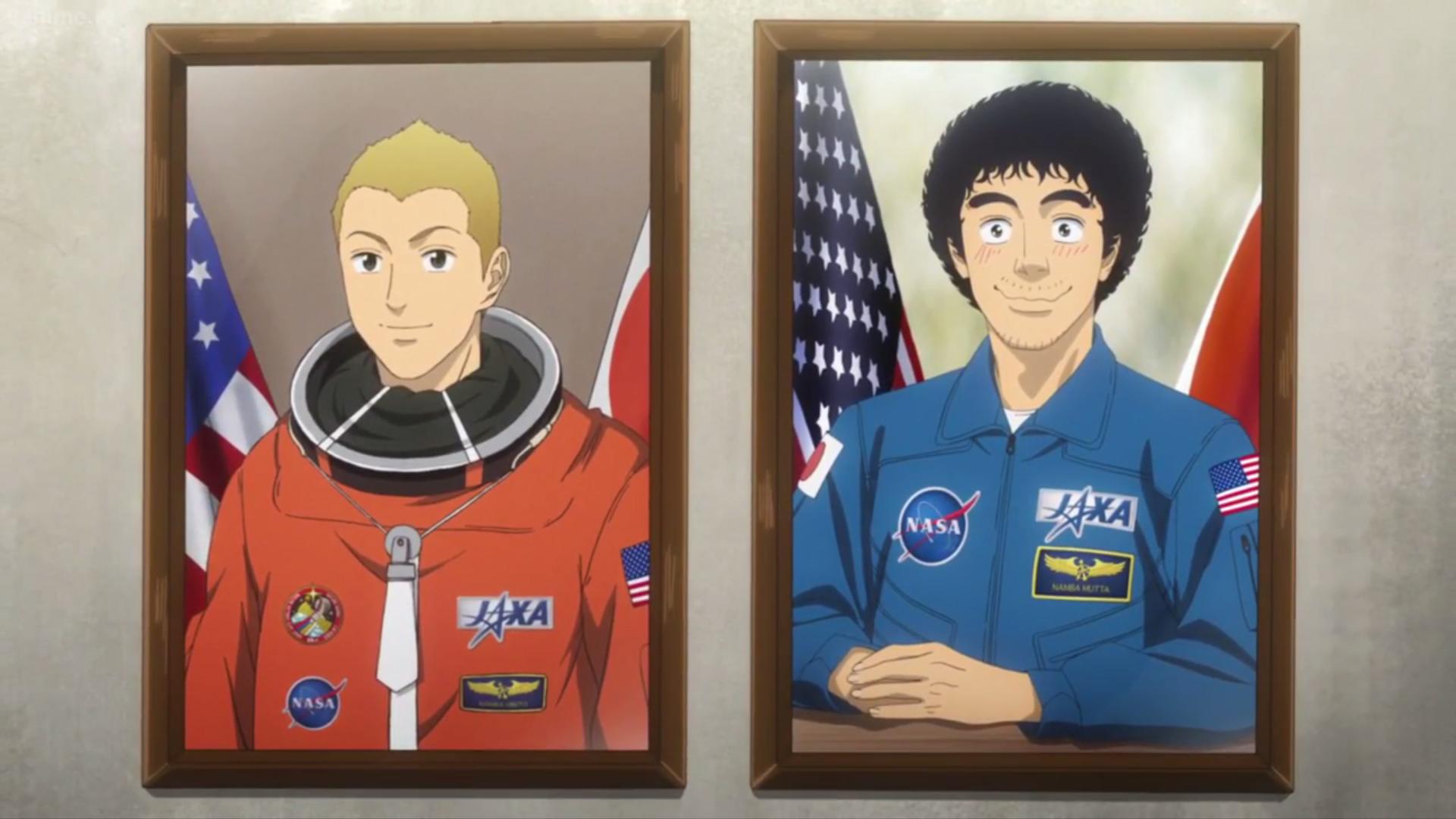 Kết quả hình ảnh cho Uchuu Kyoudai (Space Brothers) anime