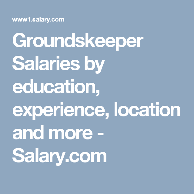 Geographic Information System Engineer Sample Resume Groundskeeper Salarieseducation Experience Location And More