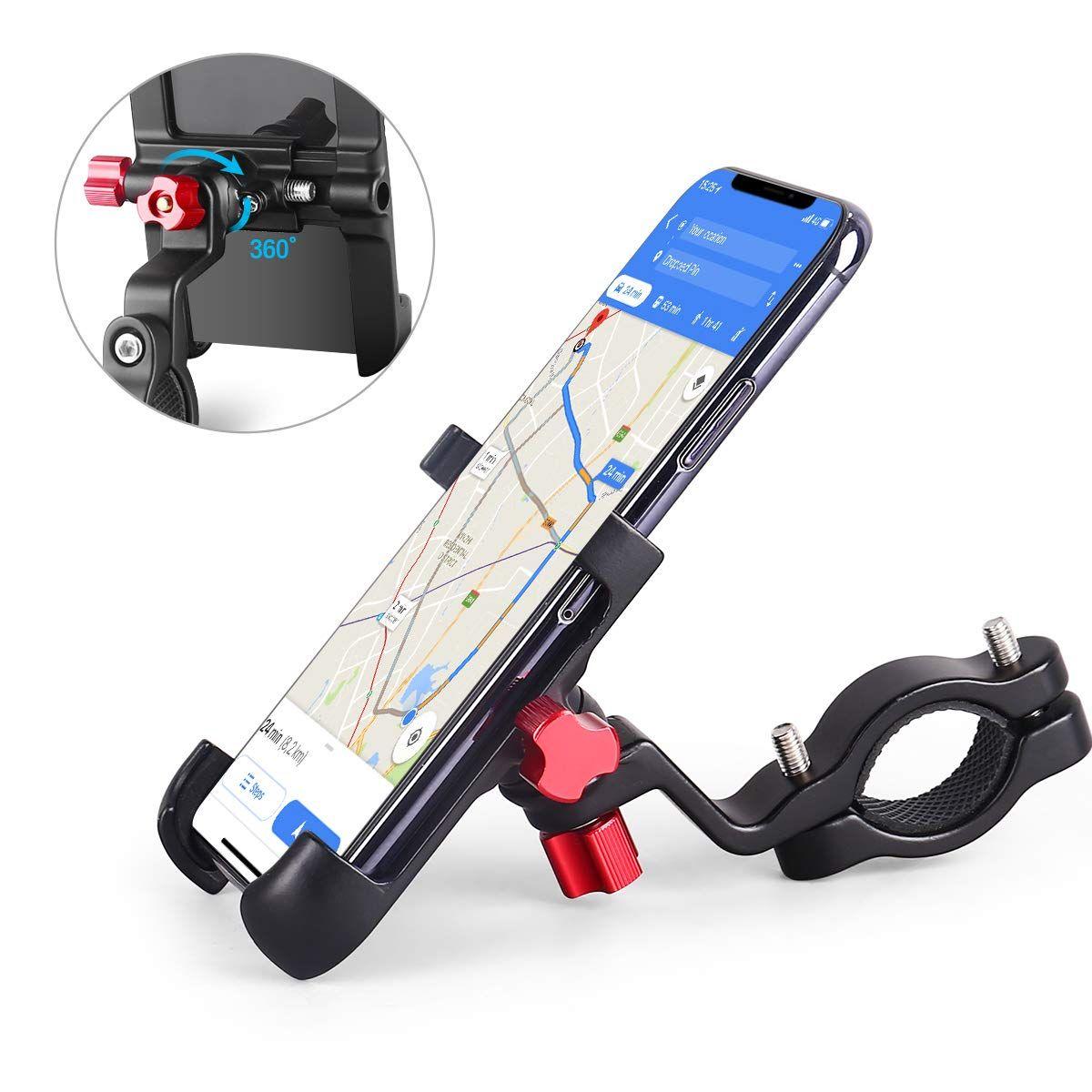 Homeasy Universal Bike Phone Mount Bicycle Holder Handlebar