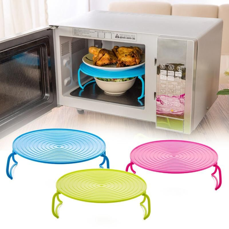 Microwave Plate Rack Cover #plateracks