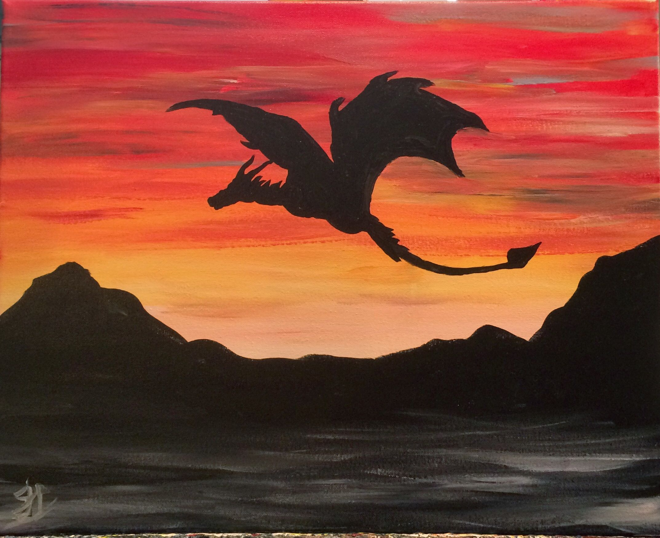 Mother Of Dragons At Barley Vine Paint Nite Events In