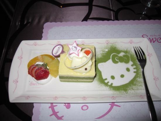 Hello Kitty Sweets: tea set