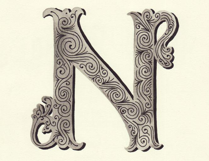 """Letter """"N"""""""