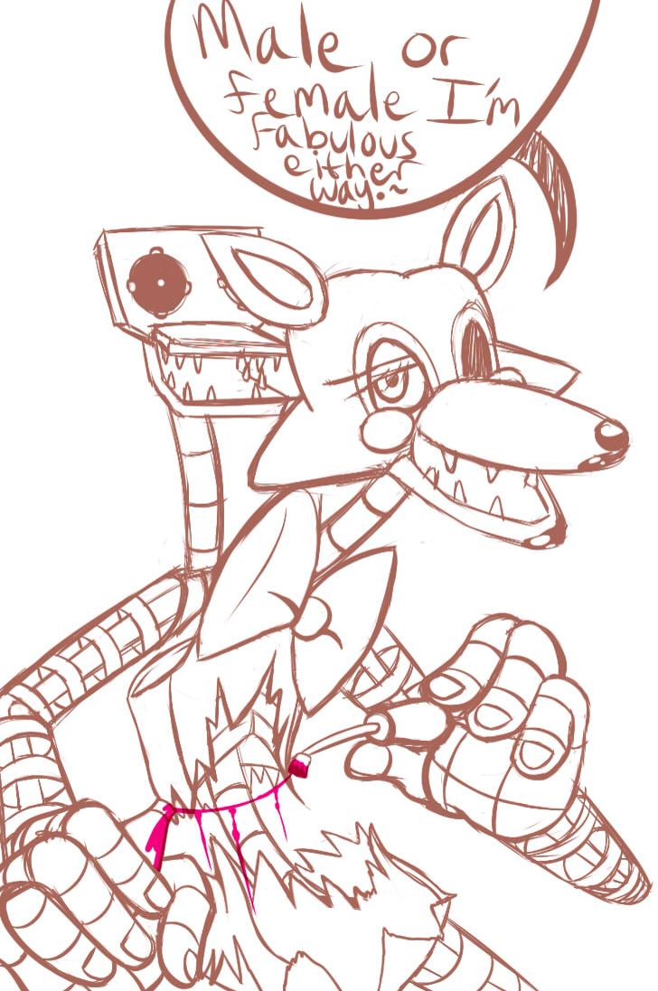 Five nights at Freddy's 2 - mangle