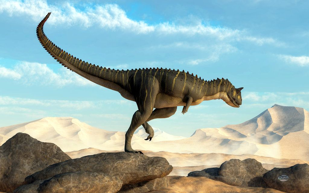 Carnotaurus by deskridge