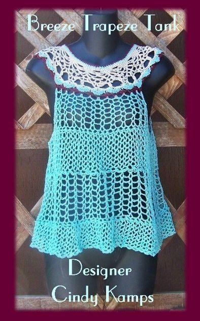 crochet tank top pattern   crochet   Pinterest   Kleidung häkeln ...