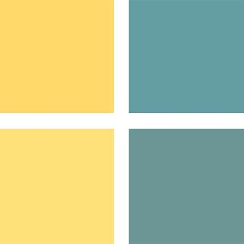 Bold Color Palettes…i would have less dark grey undertones in the ...