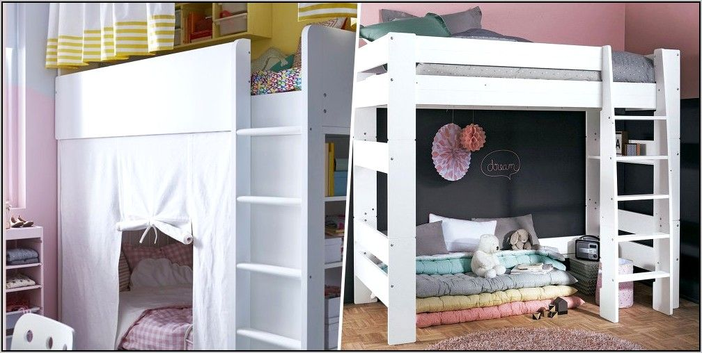 Deco Chambre 2 Filles Lit Superpose in 2020 | Home decor ...