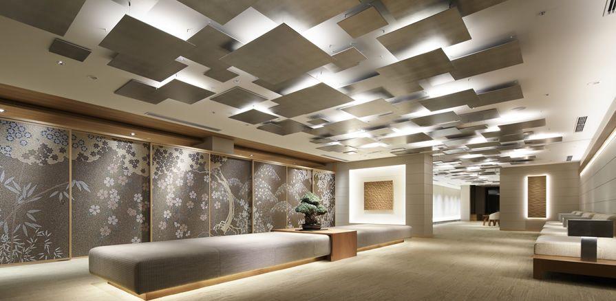 八芳園 Omotenashiをデザインする デザイン 天井 図書館デザイン