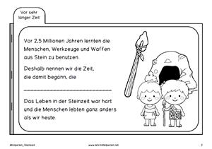 Deckblatt Geschichte Klasse 5 Steinzeit O2 Partner