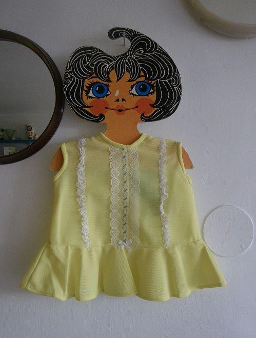 Gorgeous little toddler dress - original vintage deadstock / oldstock I found for my online shop