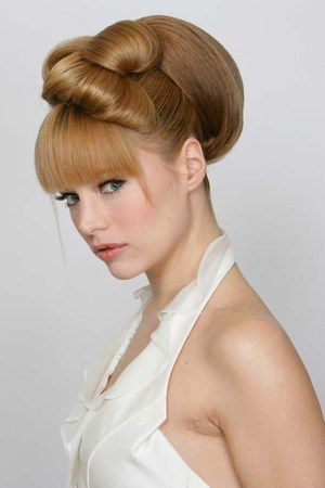 chignon alain divert les plus belles coiffures de mari e. Black Bedroom Furniture Sets. Home Design Ideas