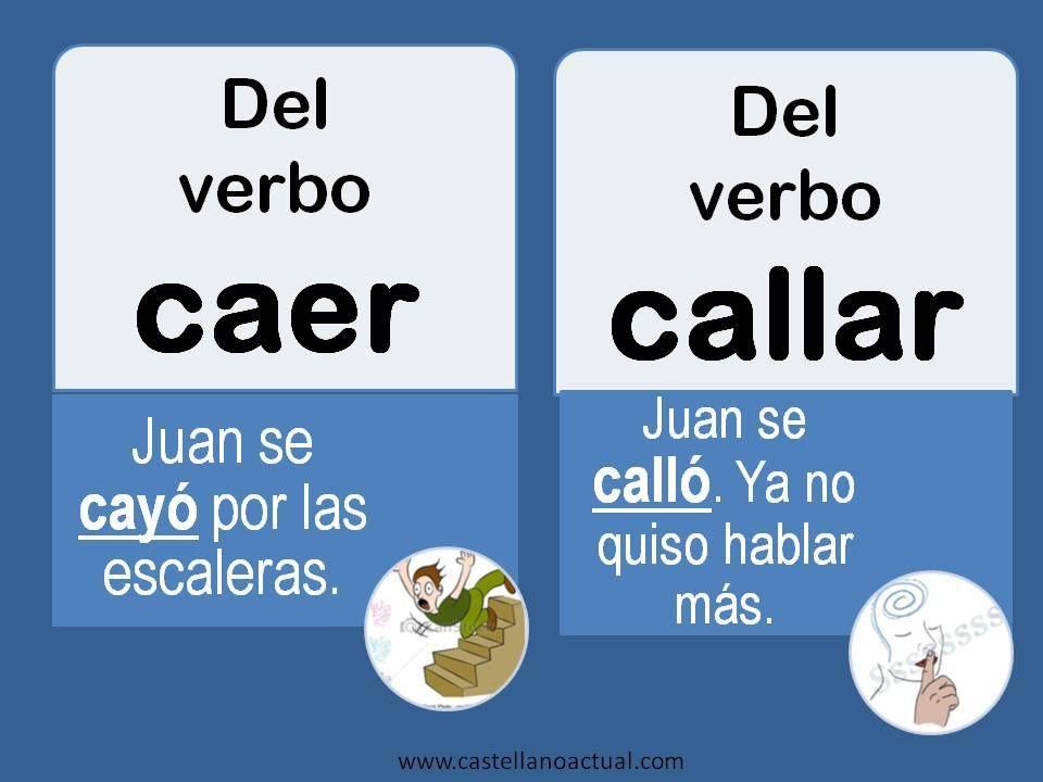 CAER Y CALLAR
