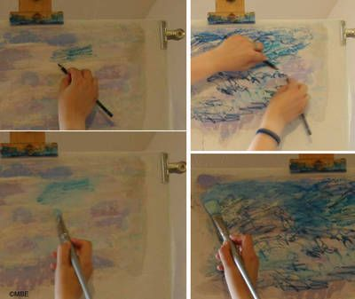 Follow These Steps To Use Inktense Pencils Fabric Painting