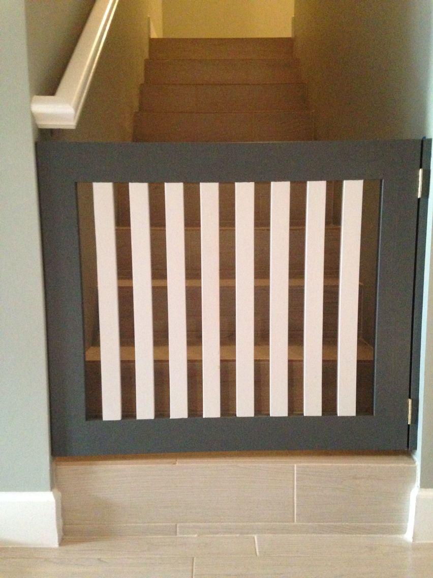 stylish baby gates - perfect stylish baby gate dark and light grey wood home