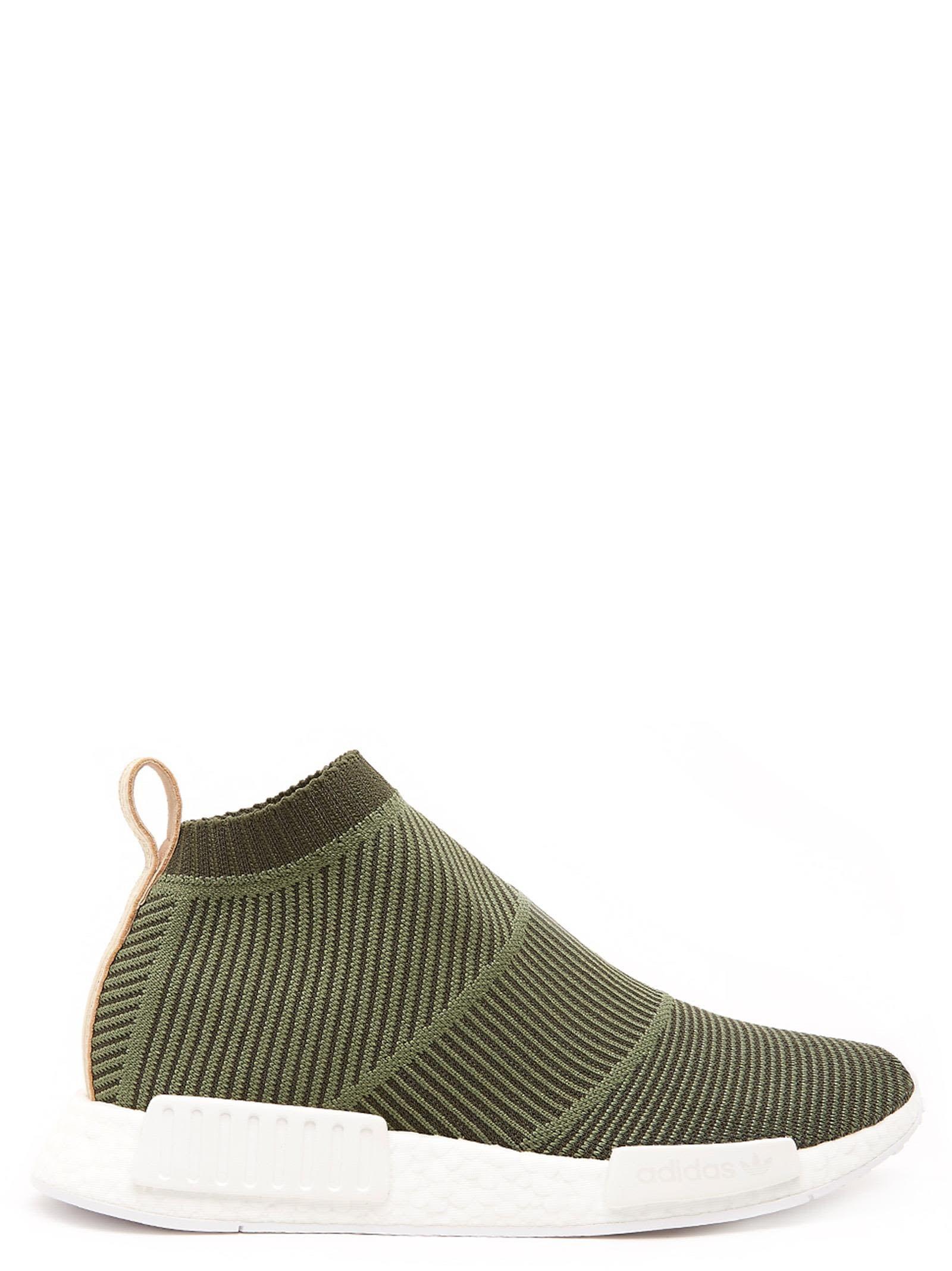 Adidas Men Originals NMD CS1 Primeknit Shoes WhiteSolid