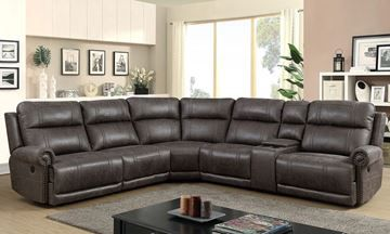 Show Details For Pierson Power Reclining Sectional Sofa