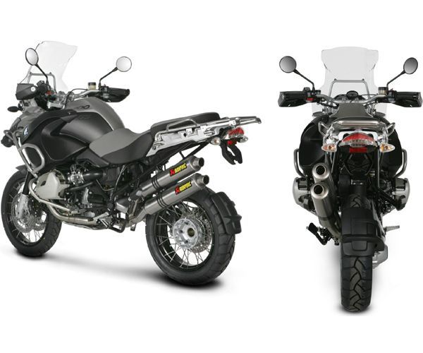 Akrapovic Dual Full Exhaust System For R1200gs Adventure 04 09
