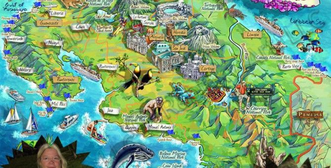 Are We There Yet? | Costa rica map, Costa rica attractions, Costa rica  vacation