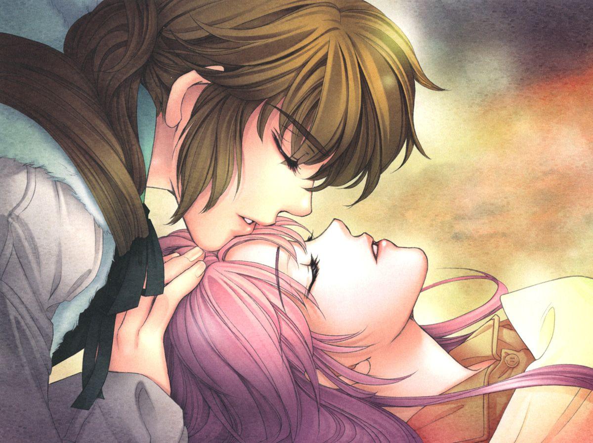 Kiss Anime Love Hd Wallpaper