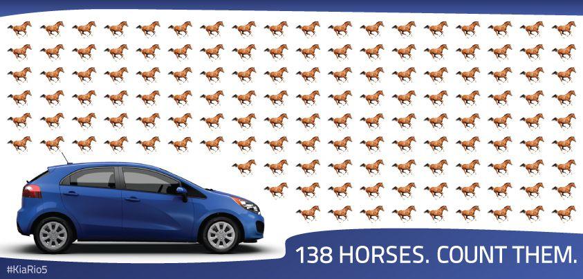 138 horses. Vroom vroom! KiaRio5 Kia rio5, Kia rio, Kia