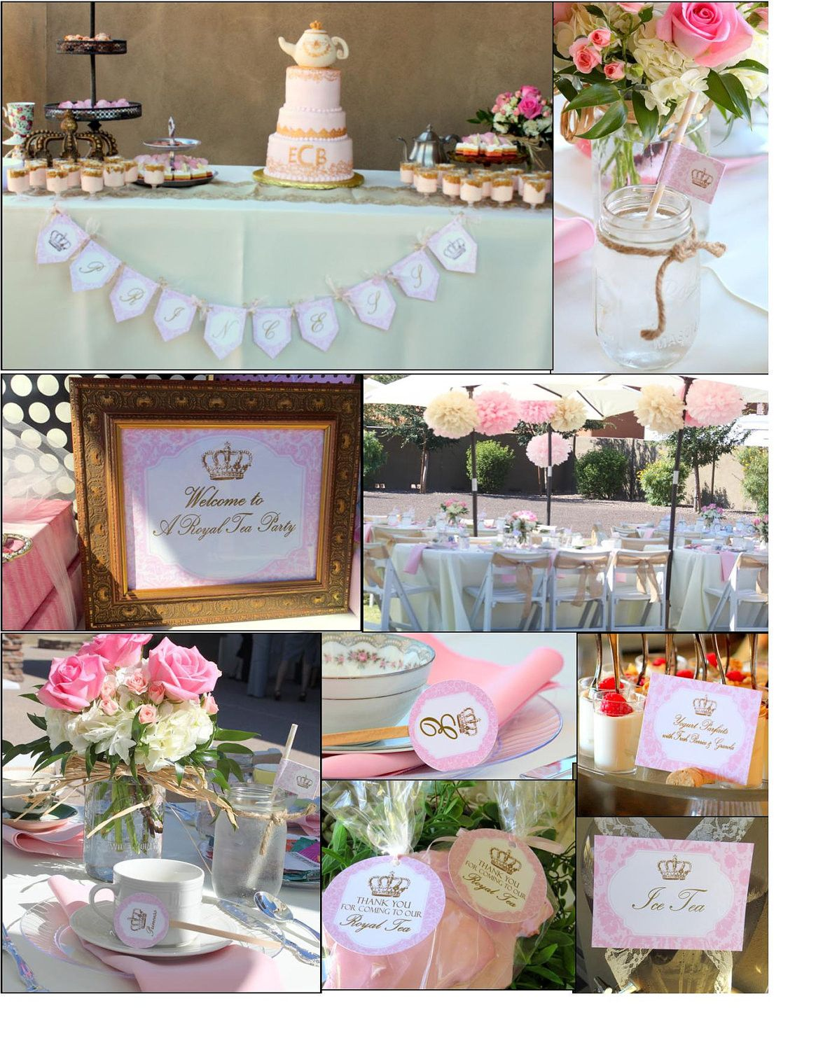 a royal tea is a printable collection fit for a princess whether it is to celebrate the arrival of our little lady or to celebrate the