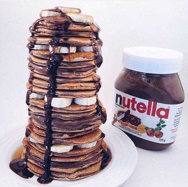 Stacks pancakes