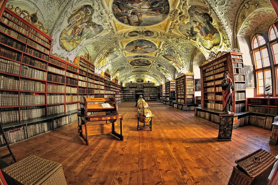 Library of Strahov Monastery. Prague by Ernest Glez. Roda, via 500px
