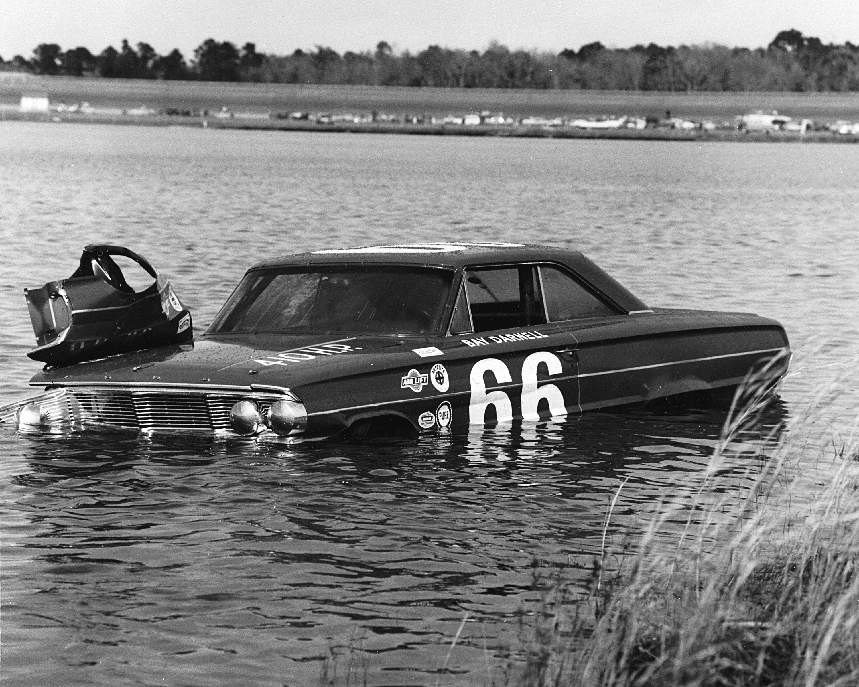 In 1964 Bay Darnell was one of a handful of drivers to end up in