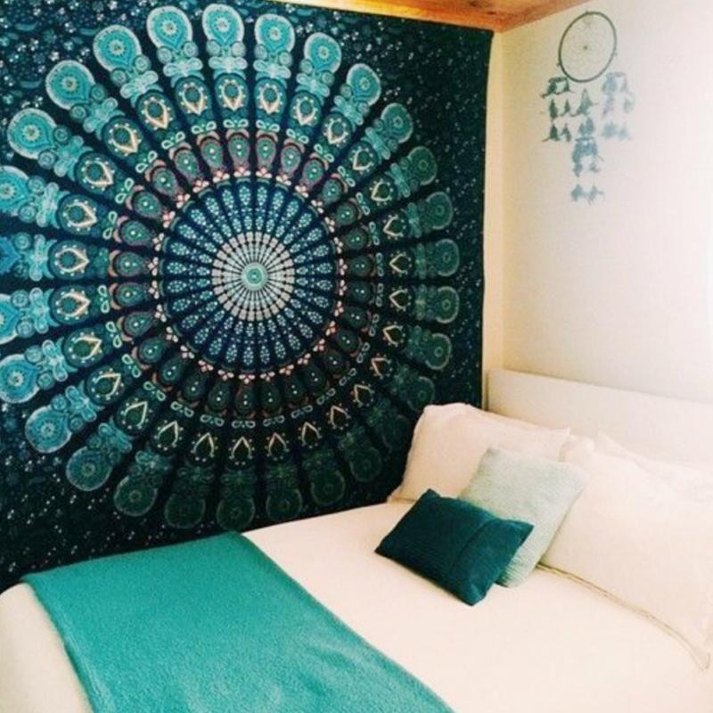 Comprar mandala flor manta de indio hippie for Proveedores decoracion hogar